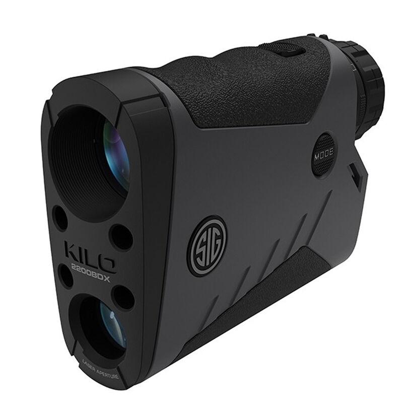 SIG Sauer Kilo2200BDX Laser Rangefinder 7x25mm Ballistic Data Xchange Compatible Milling Reticle LCD Display Graphite/Black Finish