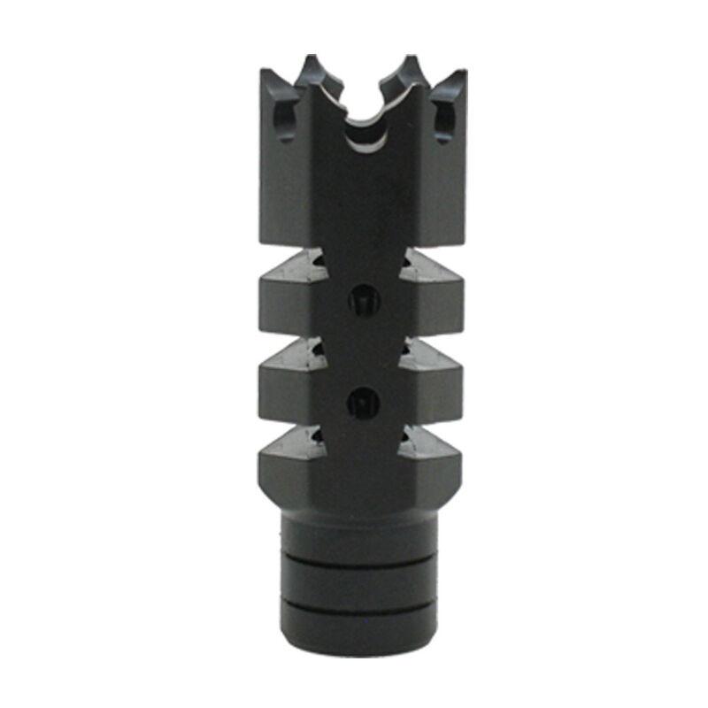 "XTS Shark AR-15 Muzzle Brake 1/2""x28 MZ 1004"