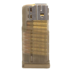 Lancer L7 Advanced Warfighter Magazine .308 Win/7.62 NATO 25 Rounds Polymer Translucent Flat Dark Earth