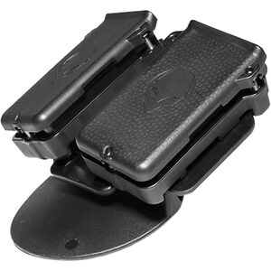 Alien Gear Cloak Double Mag Carrier IWB/OWB Single Stack 9mm/.40 S&W Magazines Polymer Black
