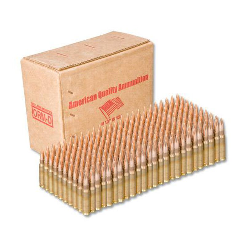 American Quality .308 Winchester Ammunition 250 Rounds FMJ 147 Grains N308147VP250