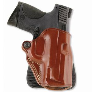 Galco Speed Paddle S&W M&P Compact 9/40 Paddle Holster Right Hand Leather/Polymer Tan SPD474
