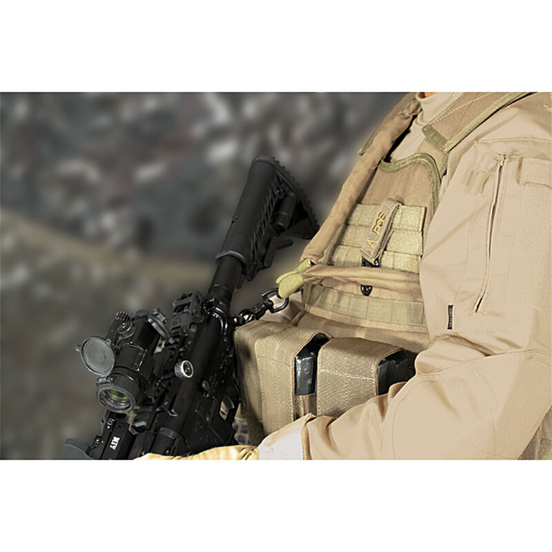 Voodoo Tactical Bungee Rifle Sling Coyote