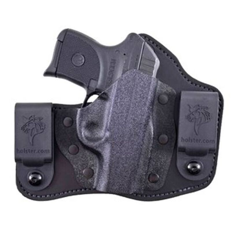 DeSantis Intruder IWB Holster Kimber Solo Carry Right Hand Kydex/Leather Black 105KAX3Z0