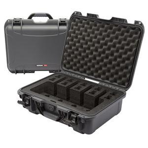 Nanuk 925 4 UP Gun Hard Case Waterproof  Dustproof  High Impact Polymer Graphite Gray 925-4UP7