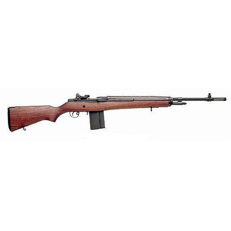 "Springfield Armory M1A Loaded 7.62 NATO Semi Auto Rifle 22"" National Match Barrel 10 Rounds Walnut Stock Parkerized Finish"