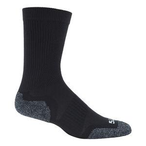 5.11 Tactical Slip Stream Men's Crew Sock Medium Black