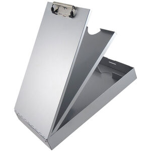 Saunders Redi-Rite Cruiser-Mate Storage Clipboard with Pen Divider Legal Sized Aluminum