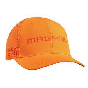 Magpul Wordmark Patch Trucker Cap One Size Fits Most Orange