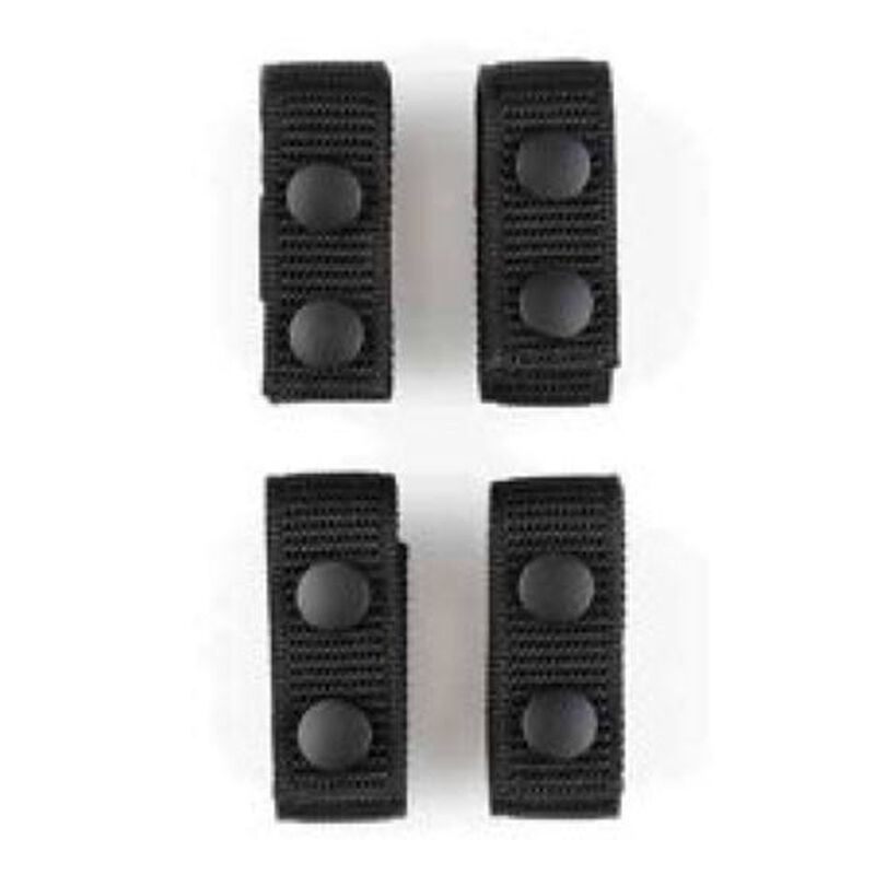 Aker Leather A TAC Keepers Nylon One Inch Black 4 Pack