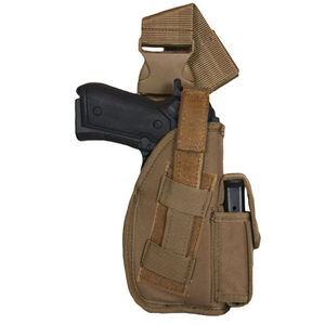 "Fox Outdoor SAS Tactical Leg Holster 4"" Right Hand Nylon Coyote Tan 58-08"