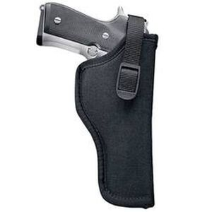 "Uncle Mike's Sidekick Hip Holster 7""-8.5"" Barrel Medium/Large Double Action Revolvers Right Hand Nylon Black 81041"