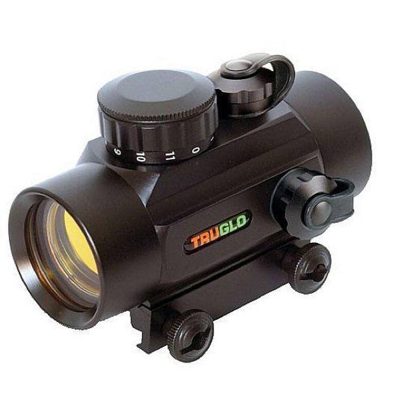 TRUGLO Red Dot Sight 30mm Picatinny/Weaver Mount 5 MOA Dot Aluminum Black TG8030P
