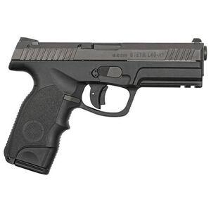 "Steyr Mannlicher L-A1 Semi Automatic Pistol 9mm Luger 4.5"" Barrel 17 Round Capacity Polymer Grips Black 39.621.2K"