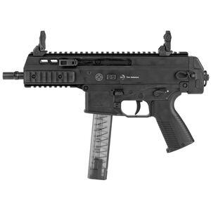 "B&T APC9 Pro Semi Auto Pistol 9mm Luger 7"" Barrel 30 Rounds Full Length Optic Rail Ambidextrous Controls Matte Black"