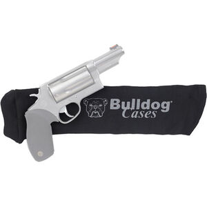 "Bulldog Cases Gun Sock Handgun 14""x4"" Cotton Knit Black"