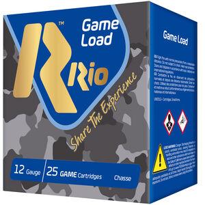 """RIO Ammunition Super Game HV Load 12 Gauge Ammunition 2-3/4"""" Shell #6 Lead Shot 1-1/8oz 1280fps"""