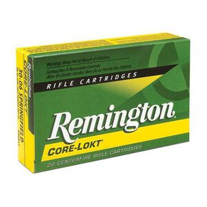 Remington Express .300 Remington SA Ultra Magnum Ammunition 20 Rounds 165 Grain Core-Lokt PSP Soft Point Projectile 3075fps