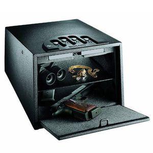 "GunVault Deluxe Multi Vault Double Handgun Safe 14""x10""x8"" Black GV2000C-DLX"
