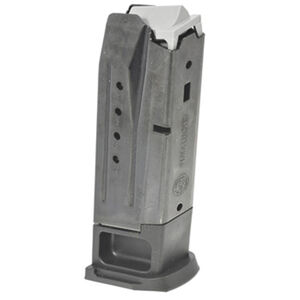 Ruger Security-9 Full Size 10 Rounds Magazine 9mm Luger Alloy Steel Black Oxide Finish