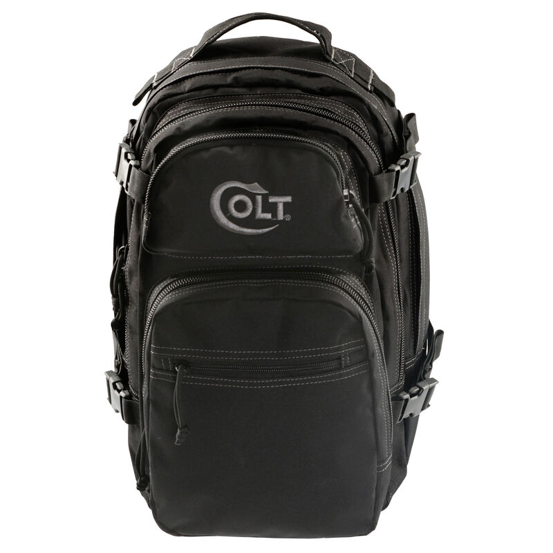 "Drago Gear Colt Patrol Backpack 16""x10""x10"" 1531 Cubic Inches 600 Denier Nylon Matte Black Finish"