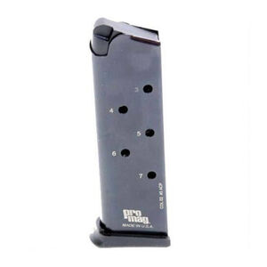 ProMag 1911 Government Magazine .45 ACP 7 Rounds Steel Blued COL 02