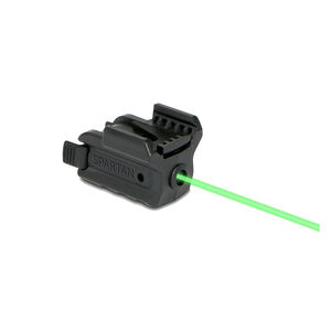 Lasermax Spartan Handgun Green Laser Polymer Black