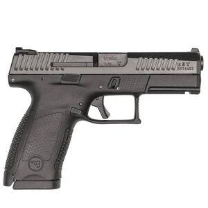 """CZ P-10 C 9mm Semi Auto Pistol 4.02"""" Barrel 10 Rounds Three Dot Sights Black"""