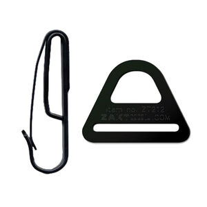 "ZAK Tool Tactical Belt Clip System Fits 1.75"" Wide Duty Belts Black ZT212-54"