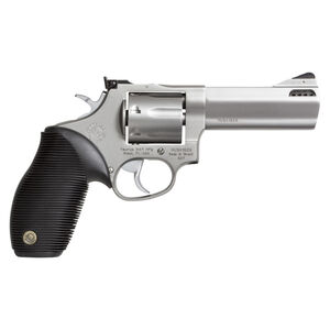 "Taurus Tracker 627 Double Action Revolver .357 Magnum 4"" Ported Barrel 7 Rounds Fixed Front Sight/Adj Rear Sight Ribber Grip Matte Stainless Steel Finish"