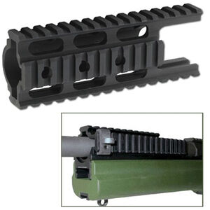 SAKO ITRS TRG 22/42 INTEGRATEDSAKO TRG I.T.R.S. (Integrated Tactical Rail System) Accessory Rail Aluminum Black