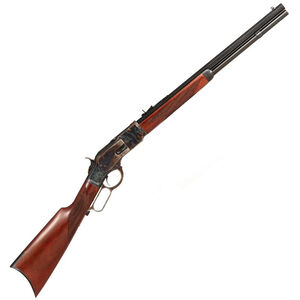 "Taylor's & Co 1873 Comanchero Lever Action Rifle 45 LC 20"" Octagonal Barrel 10 Rounds Checkered Straight Stock Blued"