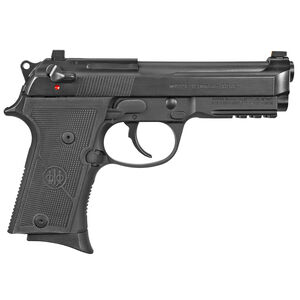 "Beretta 92X GR Compact 9mm Luger 4.25"" Barrel 13 Rounds Accessory Rail Ambi Decock Only Black Finish"