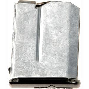 Anschutz .22 WRM Magazine 4 Round Capacity Stainless Steel