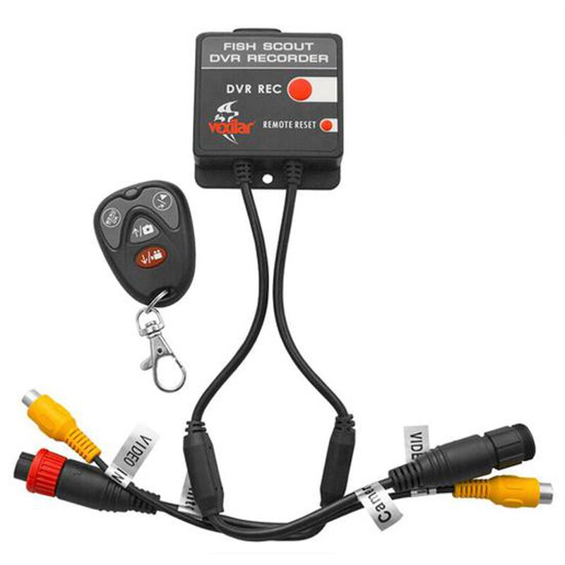 Vexilar Portable DVR fr Fish Scout Camera Systems