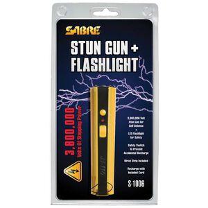 SABRE 3.8 Million Volt Stun Gun Yellow S-1006-YW