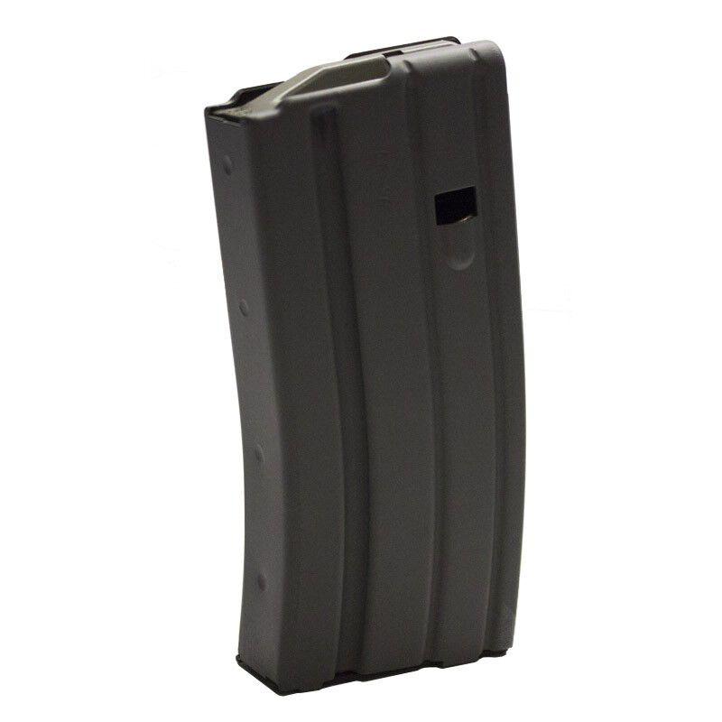 D&H Tactical AR-15 .223/5.56 20 Round Aluminum Magazine With Magpul Anti-Tilt Follower Grey Teflon Anodized