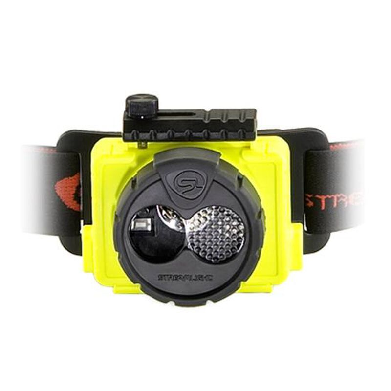 Streamlight Double Clutch USB LED Headlamp 125 Lumen Rechargeable or 3x AAA Yellow 61600