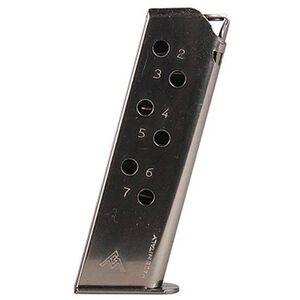 Walther PPK/S 7 Round Magazine .380 ACP Nickel