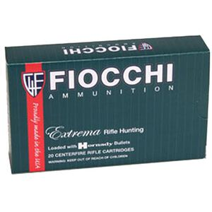 Fiocchi Extrema Rifle Line .243 Winchester Ammunition 20 Rounds 95 Grain Hornady SST Projectile 2950 fps