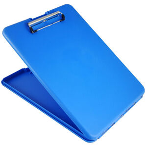 Saunders SlimMate Storage Clipboard Letter/A4 Size, Blue
