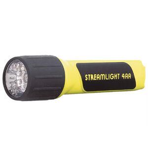 Streamlight Propolymer Flashlight LED 67 Lumens AA Alkaline Push Button Polymer Yellow 68201