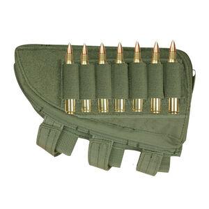Fox Outdoor Rifle Butt Stock Cheek Rest Left Hand OD Green 55-470