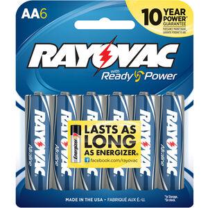 Rayovac AA Batteries Alkaline Batteries 6 Per Package