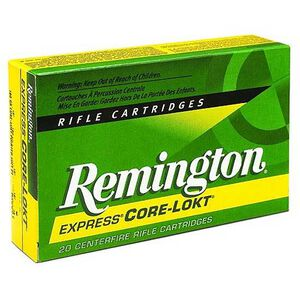 Ammo .30-30 Winchester Remington Express Core-Lokt SP 125 Grain Managed Recoil 20 Round Box 2175 fps