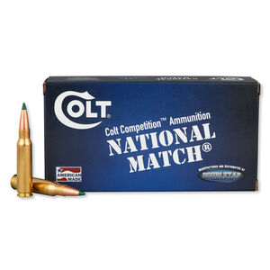Colt Defense 6.5 Creedmoor Ammunition 20 Rounds Match HPBT 140 Grains