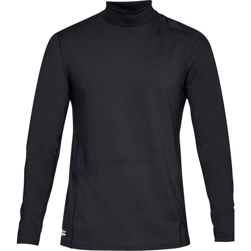 Under Armour Tac Reactor Base Mock Shirt Long Sleeve Men's Polyester Elastane XL Black