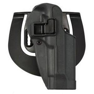 BLACKHAWK! SERPA Sportster Paddle Holster, 1911 Govt, Left Hand, Gunmetal Gray