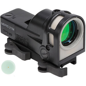 Meprolight M21 Reflex Sight 1x30mm 5.5 MOA Illuminated Dot Black