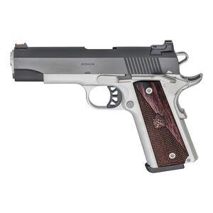 "Springfield Armory 1911 Ronin Operator .45 ACP Semi Auto Pistol 4.25"" Barrel 8+1 Rounds Aluminum Blued"